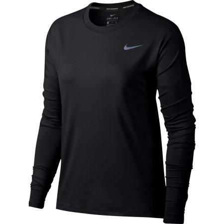 Koszulka z długim rękawem damska - Nike DRY ELEMENT TOP LS W - 1