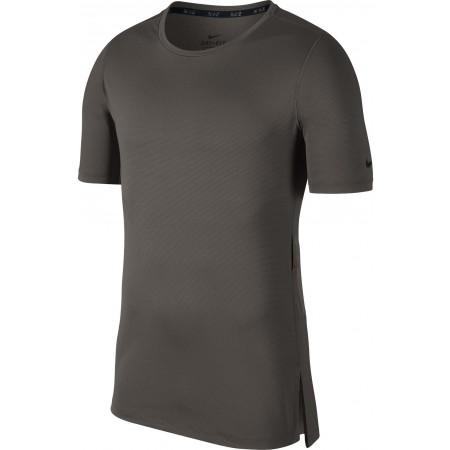Koszulka treningowa męska - Nike TOP SS FTTD UTILITY - 1