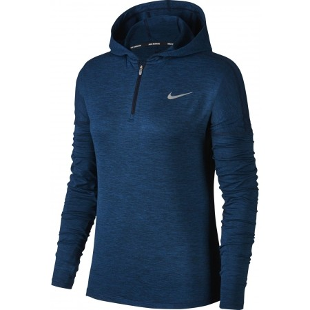 Bluza do biegania damska - Nike DRY ELMNT HOODIE W - 1