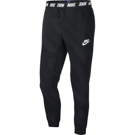 Spodnie męskie - Nike AV15 PANT FLC AOP - 1