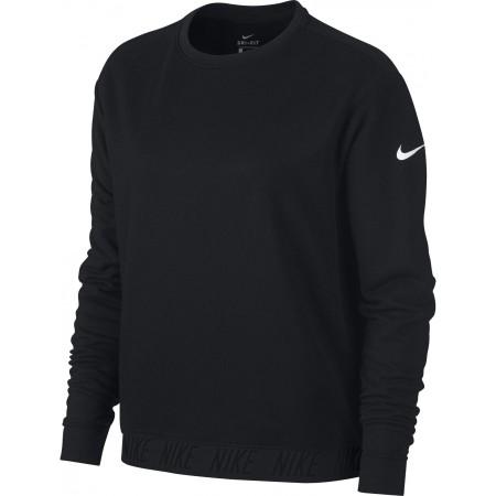 Koszulka sportowa damska - Nike DRY TOP LS CREWNECK W - 1