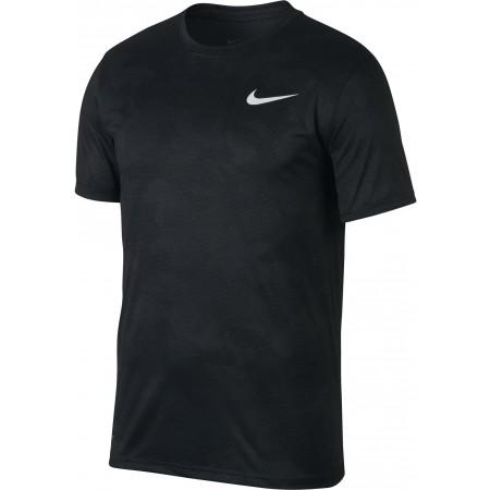 Koszulka treningowa męska - Nike DRY TEE LEG CAMO AOP M - 1
