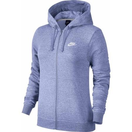 Bluza z kapturem damska - Nike HOODIE FZ FLC W - 1