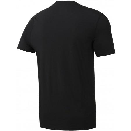 Koszulka męska - Reebok WORKOUT READY SUPREMIUM TEE - 2