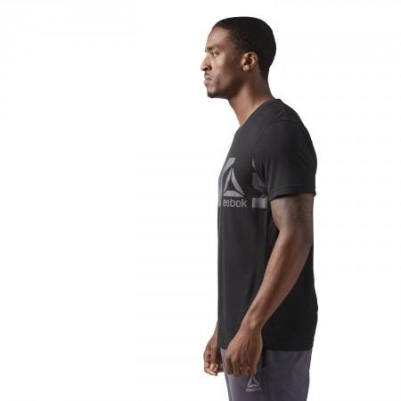 Koszulka męska - Reebok WORKOUT READY SUPREMIUM TEE - 5