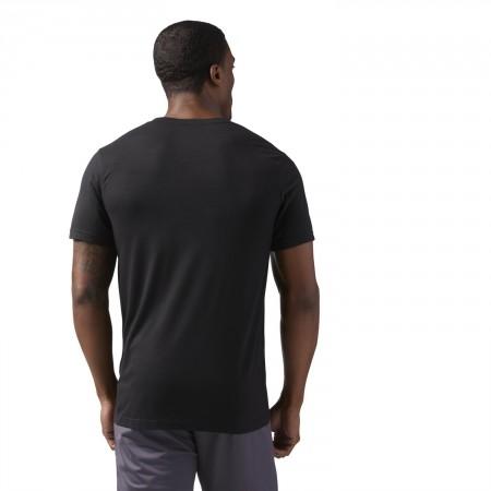 Koszulka męska - Reebok WORKOUT READY SUPREMIUM TEE - 4