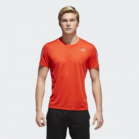 Koszulka do biegania męska - adidas RS SS TEE M - 2