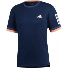 adidas CLUB 3 STRIPES TEE - Koszulka tenisowa męska