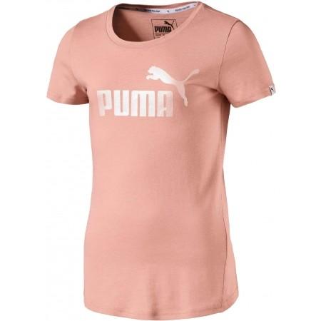 Koszulka dziewczęca - Puma STYLE ESS LOGO TEE