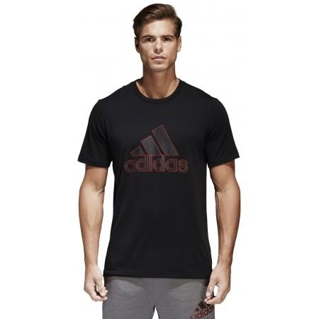 Koszulka męska - adidas COMMERCIAL GENERALIST TEE PES - 4