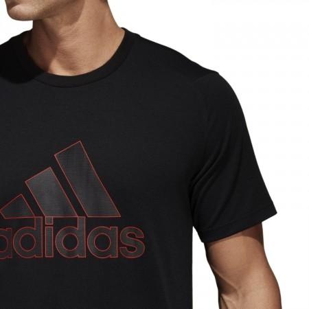 Koszulka męska - adidas COMMERCIAL GENERALIST TEE PES - 9