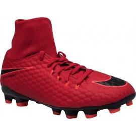 Nike HYPERVENOM PHELON III JR DF FG - Obuwie piłkarskie dziecięce