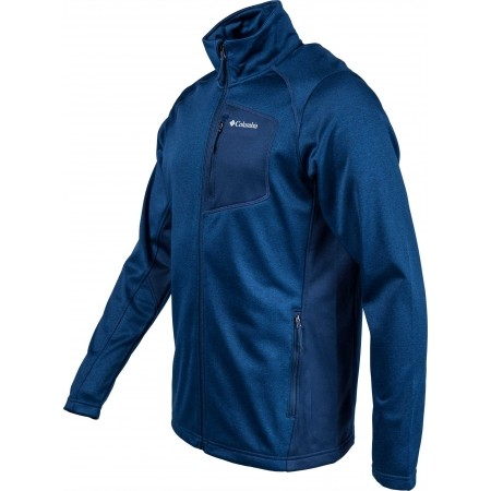 Bluza męska - Columbia JACKSON CREEK II FULL ZIP - 2
