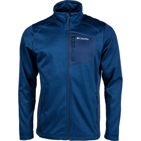 Bluza męska - Columbia JACKSON CREEK II FULL ZIP - 1