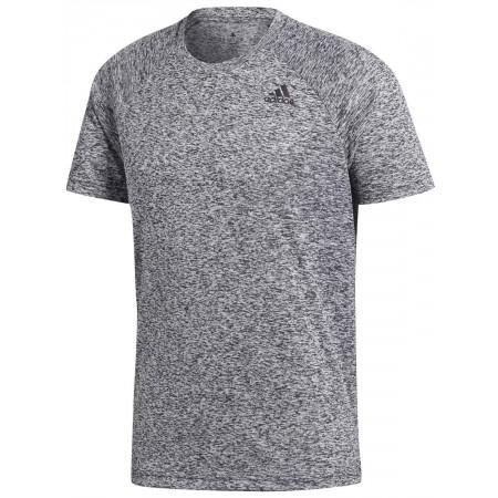 Koszulka męska - adidas DESIGN TO MOVE TEE HEATHER - 1