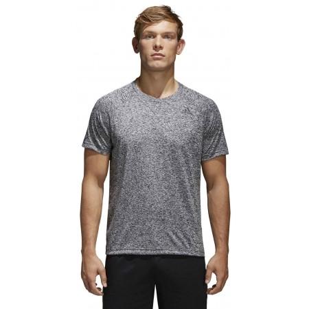 Koszulka męska - adidas DESIGN TO MOVE TEE HEATHER - 3
