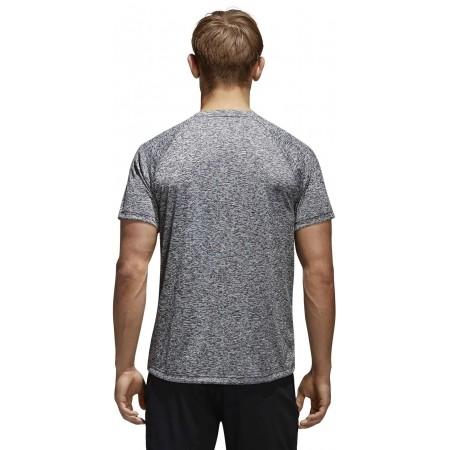 Koszulka męska - adidas DESIGN TO MOVE TEE HEATHER - 4