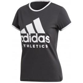 adidas W SID SLIM TEE - Koszulka damska