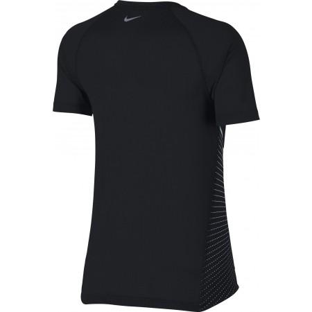 Koszulka do biegania damska - Nike DRI-FIT MILER TOP SS GX - 2