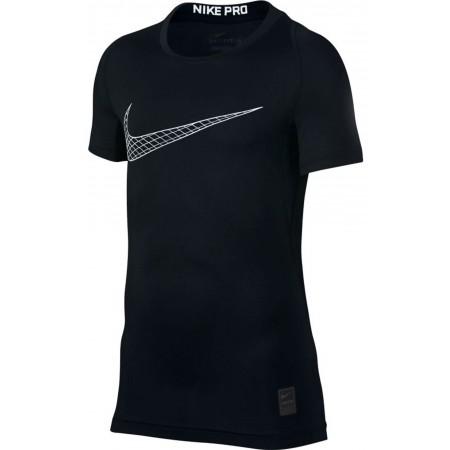 Koszulka chłopięca - Nike PRO TOP SS COMP - 1