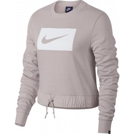 Bluza damska - Nike CREW CROP SWSH W - 1