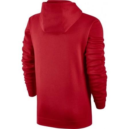 Bluza z kapturem męska - Nike HOODIE PO FLC CLUB - 2