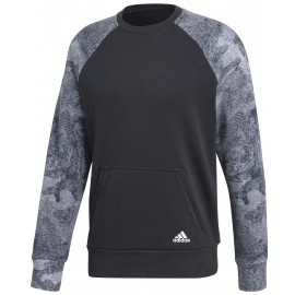 adidas CLASSICS 3S PULLOVER FLEECE - Bluza męska