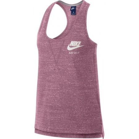 Koszulka sportowa damska - Nike GYM VNTG TANK W - 1
