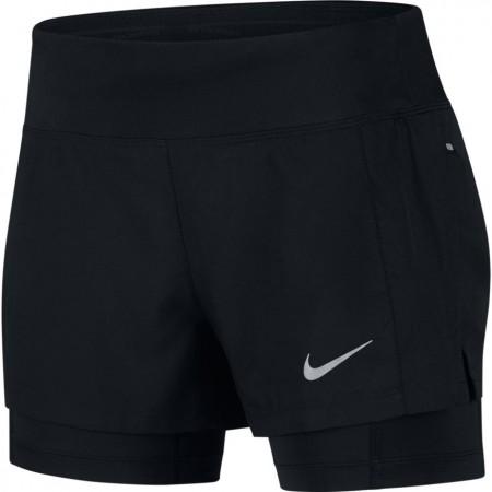 Spodenki do biegania damskie - Nike ECLIPSE 2IN1 W - 1
