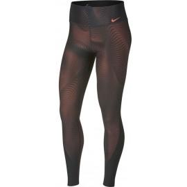Nike POWER TGHT POLY PRINT - Legginsy damskie