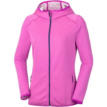 Bluza z kapturem damska - Columbia CABANON CREEK FULL ZIP HOODIE - 1