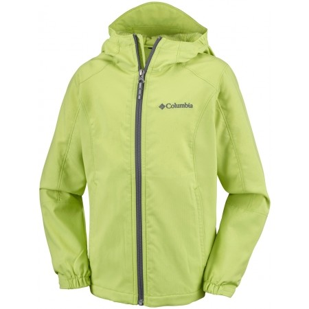 Kurtka chłopięca - Columbia SPLASHFLASH II HOODED SOFTSHELL JACKET - 1