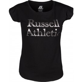 Russell Athletic ATHLETIC SILVER TEE - Koszulka damska