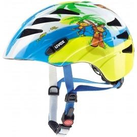 Uvex KID 1 MONKEY - Kask rowerowy dziecięcy