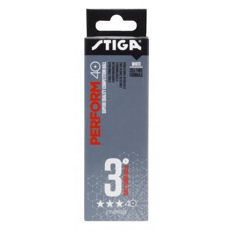Piłeczki do tenisa stołowego - Stiga PERFROM WHTE 3-PACK - 2