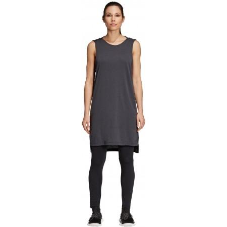 Koszulka damska - adidas W ID LONG M TEE - 2