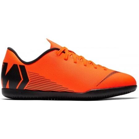 Obuwie piłkarskie halowe dziecięce - Nike MERCURIALX VAPOR XII CLUB IC JR - 1