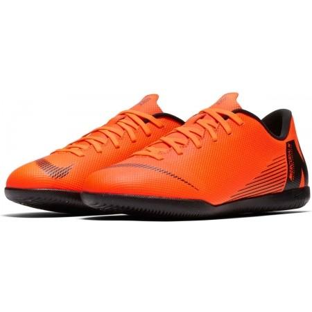 Obuwie piłkarskie halowe dziecięce - Nike MERCURIALX VAPOR XII CLUB IC JR - 3