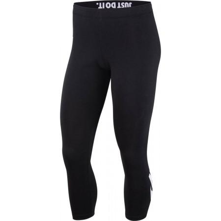 Legginsy sportowe damskie - Nike LGGNG LEGASEE CROP LOGO - 1