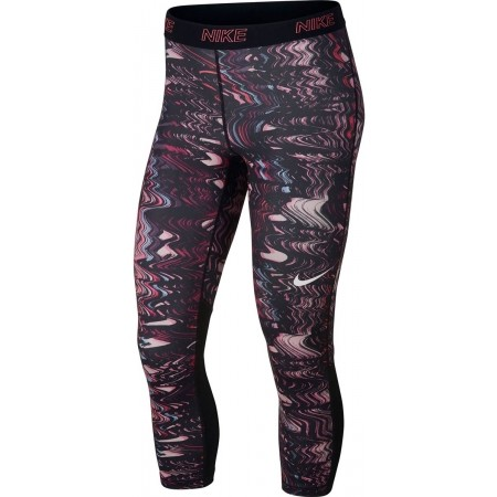 Legginsy sportowe damskie - Nike VCTY CAPRI VNR - 1