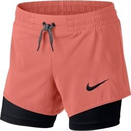 Nike G SHORT 2IN1 - Spodenki treningowe dziewczęce