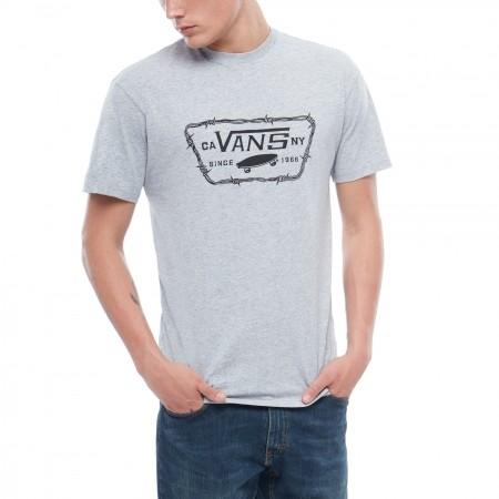 Koszulka męska - Vans MN FULL PATCH BARBED - 1