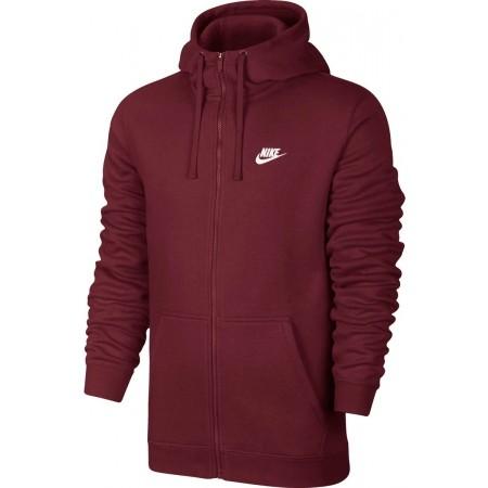 Bluza męska - Nike HOODIE FZ FLC CLUB - 1
