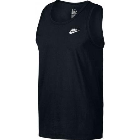 Koszulka męska - Nike TANK CLUB EMBRD FTRA - 1