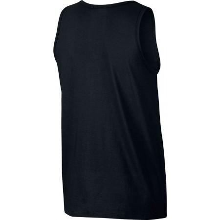 Koszulka męska - Nike TANK CLUB EMBRD FTRA - 2