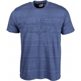 Russell Athletic S/S CREW TEE WITH DISTRESSED 'THE LEGEND' PRINT - Koszulka męska