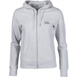 Russell Athletic ZIP THROUGH HOODY WITH SILVER PRINT