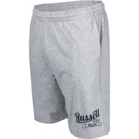 Russell Athletic SHORTS WITH SCRIPT STYLE PRINT - Szorty męskie