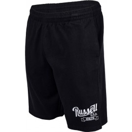 Russell Athletic SHORTS WITH SCRIPT STYLE PRINT