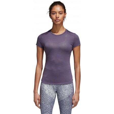Koszulka damska - adidas PRIME TEE MIX - 1